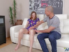 Lovely tall lassie gets nailed in art xxx video