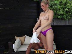 Twerking teen rides bbc