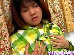 Mai Mariya brings orgasms on her hairy nasty ass