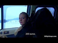Hardcore Public Sex For Money With Amateur Teen Czech Girl 02