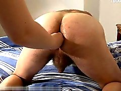 Young girl pussy creampie