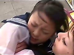 Oriental Schoolgirls