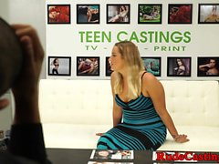 Real amateur hardfucked at casting audition