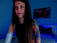 Petite Teen Cute Euro Babe Insterting Toys And Fingers No 1 High Definition
