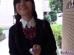 Asian teens get toyed
