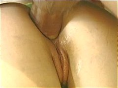 Young babe get hole gaped by her boyfriend's hard cock !