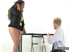 Teens nail studs anus with monster strapons and squirt ejacu