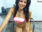 18 horny babe caught playing teen video 3