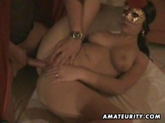 Hot amateur girlfriend suck and fuck with facial