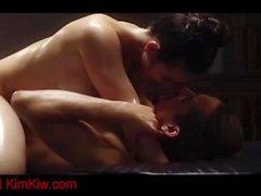Sexy couple doing an amazing massage kimkiw