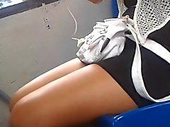 Chavita con mini vestido - Teen in minidress