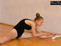 Anna Mostik the hot Russian gymnast