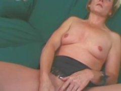 Kinky Mature MILF Tabitha Fucking Brown Cock