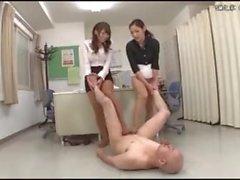 Japanese Footjob (DMOW-026)