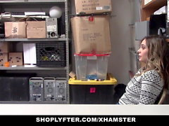 ShopLyfter - Caught On Tape Stealing Teen Fucked By Security