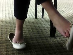 Gorgeous Foot Fetish Teen Hungry Make out