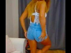 Mix Compilation Jeans Ass Girl Short Jeans Spandex