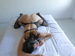 Morning Fuck With Young Nympho Babe In Stockings
