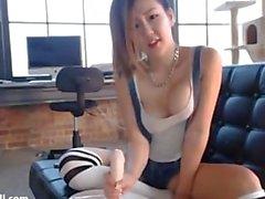 Cute Asian JOI