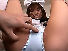Japanese Maid Has A Wet Squirting Pussy