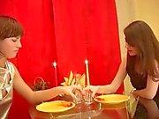 Alexandra and Lilyia - Lesbian Scene