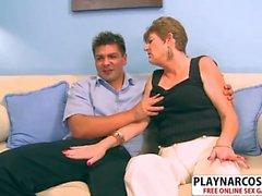 Busty Stepmom Allura James Bangs Hard Her Friend