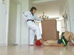 taekwondo girl