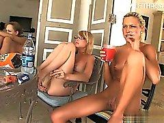Sexy slut brunette anal