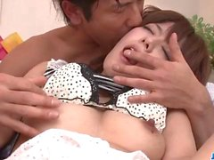 Sweet pussy stimulation for young Miyu Aoi