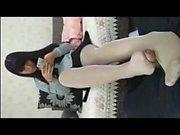 chinese teen Pantyhose Footjob 1