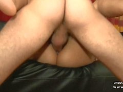 Casting young french arab ass gaped pounded n jizzed in 3way