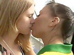 Brazilian player porking the referee