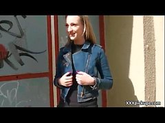 Public Sex For Money In Open Street With Teen Czech Amateur Girl 21