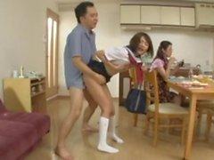 Japanese Daughter Can't Stop Cumming (Hypersensitive)