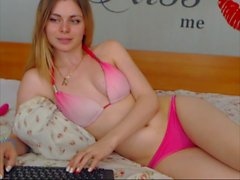 Natural Boobs Skinny Teen Toyplaying 01