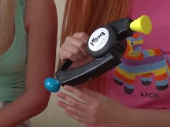 Playing Bop It! with Candee Licious