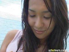 Sexy JAV Porn Star Kazuna Shimada