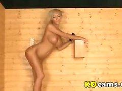 Blonde dancing 2