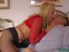 Amateur rammed by perv