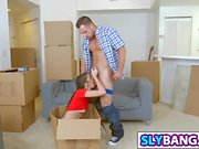 Moving in and undress