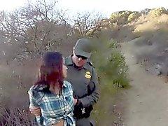 Mexican teen rides patrol