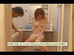 Azusa Itagaki Hot Asian chick has a sexy body