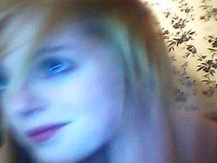 Sexy Blonde Teen Homemade Masturbation On Bed