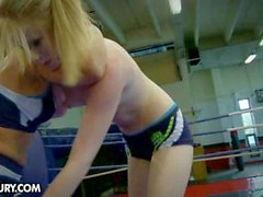 Nude Fight Club shows: Daikiri vs Alice King