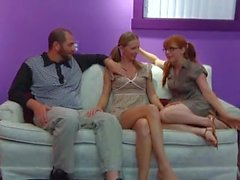 incext - Threesome Cousin Alina