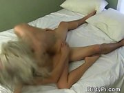 Shameless Blonde Caught Cheating On Spy Camera In Motel Room