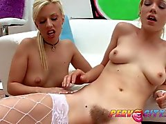 PervCity Blonde Teens AnalOverdose