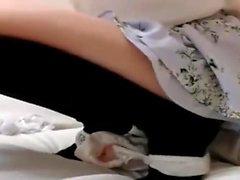 Amateur Asian swimsuit model Konishi Asakon pov blowjob