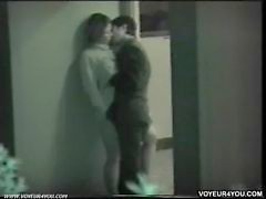 Young couples late night sex