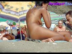 Beach Compilation Voyeur Video